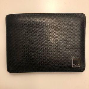 Tumi Bi-fold Wallet with Bill fold separator